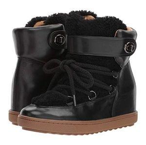Coach Monroe Hidden Wedge Boot